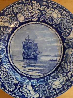 Vintage blue plate for Sale in Downers Grove, IL