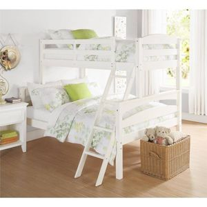 Twin over full Wooden Bunk Bed for Sale in Dallas, TX