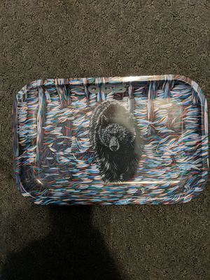 OCB 11x7 rolling tray trippy bear print for Sale in West Hempstead, NY