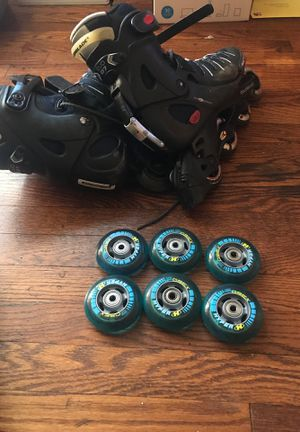 Rollerblades and extra wheels for Sale in Washington, DC