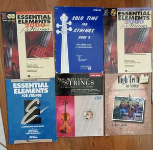 Beginner Violin Instruction Books for Sale in Queen Creek, AZ