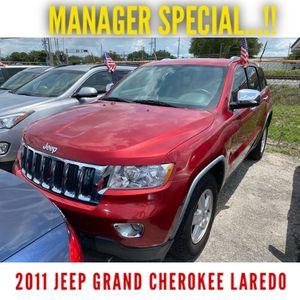 2011 Jeep Grand Cherokee LAREDO (3 months or 3000 miles Warranty) for Sale in Orlando, FL