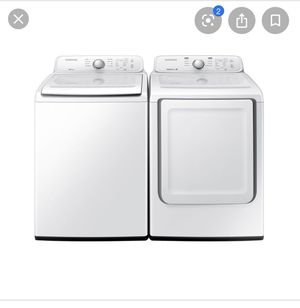 Samsung washer and dryer for Sale in Montgomery, AL
