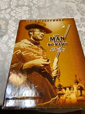 Clinton Eastwood the man with no name trilogy DVD collection for Sale in Phoenix, AZ