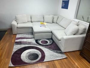 WE ARE OPEN! COMFY NEW AVENTURA SECTIONAL SOFA AND OTTOMAN SET ON SALE ONLY $699. SAME DAY DELIVERY. NO CREDIT NEEDED FINANCING for Sale in Tampa, FL