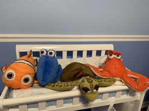 Finding Nemo plush and Nemo lamp for Sale in West Palm Beach, FL