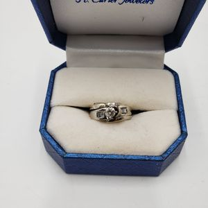 White gold and Diamond Wedding Set for Sale in Aurora, CO