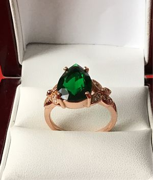 Shipping only 14kgold plated ring size 8 for Sale in Los Angeles, CA