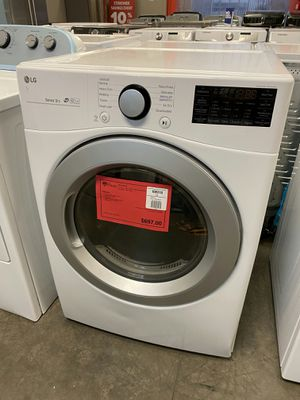 New LG White 7.4 CuFt Gas Dryer..1 Year Manufacturer Warranty Included for Sale in Gilbert, AZ