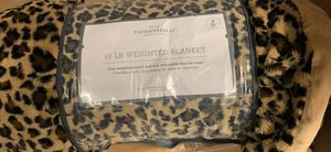 New Faux fur 15 lb weighted blanket for Sale in Las Vegas, NV