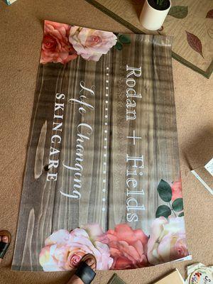 Rodan and fields custom banner for Sale in Shelton, WA