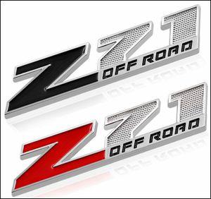 2PC Black Red 3D Metal z71 Off Road Emblem for Sale in Houston, TX