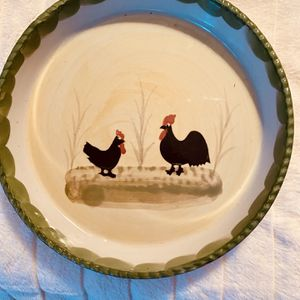 Rooster /chicken Dish for Sale in Beaumont, CA