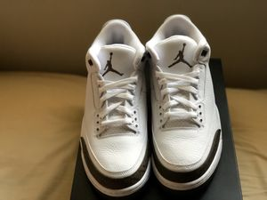 "Brand new Jordan 3s "" Mochas "" Size 11 for Sale in Forest Heights, MD"