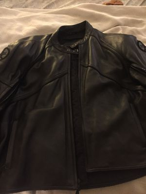 Yamaha leather and or motorcycle jacket for Sale in Alexandria, VA