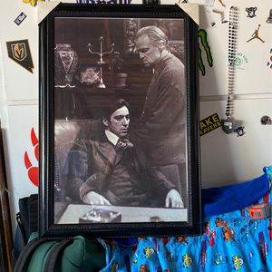 Al Pacino Marlon Brando The Godfather Framed for Sale in Newport Beach, CA