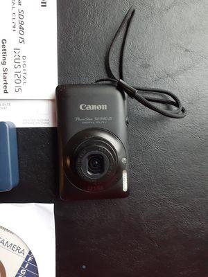 Canon SD940 12.1mp digital camera for Sale in Sacramento, CA