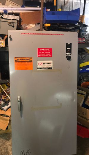 480 volt 150 amp 3 phase transfer switch for Sale in Seattle, WA