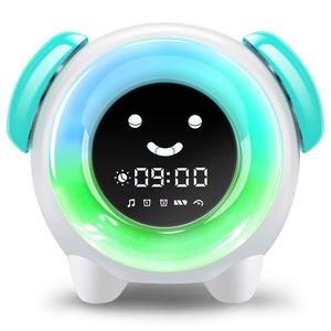「Alarm Clock for Kids, Sleep Training Clock with 7 Colors Night Light, 6 Alarm Rings, NAP Timer, Teach Children Time to Wake up, Rechargeable Battery for Sale in San Francisco, CA