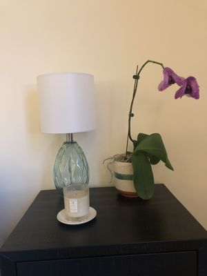 Sky blue table lamps for Sale in Washington, DC