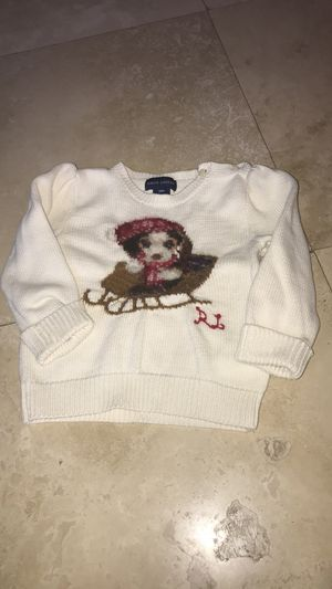 Ralph Lauren baby sweater size 18 month excellent condition for Sale in Dearborn, MI