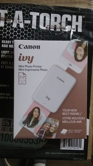 Canon ivy mini printer for Sale in Jasper, AL