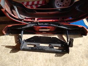 Ford SD Rear bumper / front bumper with Warn winch mount $300 for Sale in Las Vegas, NV
