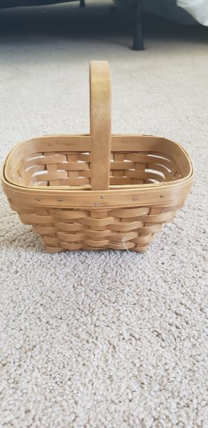 Longaberger 2002 Small Comforts Basket for Sale in Shingle Springs, CA