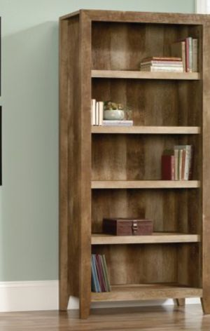 New!! Bookcase, bookshelves, organizer, 5 shelves bookcase, storage unit, living room furniture, entrance furniture , espresso for Sale in Phoenix, AZ
