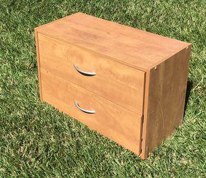 2 drawer cabinet, side, end, corner, bedside table or nightstand for Sale in Oceanside, CA