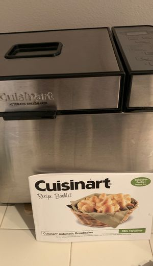 Cuisinart bread maker. Like new. for Sale in Vancouver, WA