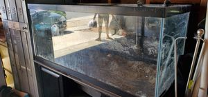 75 gallon with stand for Sale in Hemet, CA