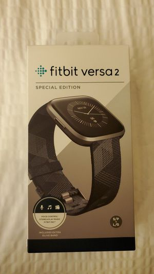 UNOPENED Fitbit Versa 2 special edition for Sale in Arlington, VA