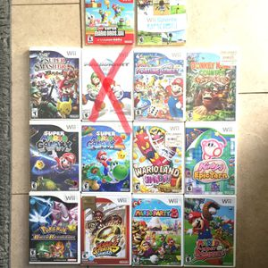 """Nintendo Wii Games """"prices vary"""" for Sale in Garden Grove, CA"""