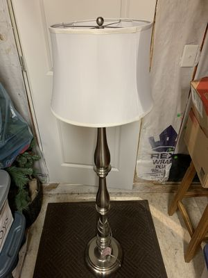 Pair of silver lamps for Sale in Franklin, TN
