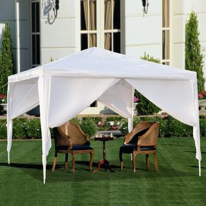 Waterproof Outdoor Patio Canopy Tent - 4 Walls - 10' x 10' ☀️ for Sale in Los Angeles, CA