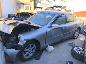 2005 Infiniti G35 Part Out Parts Doors Trunk Engine Tranny for Sale in Los Angeles, CA