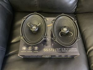 Soundstream car audio . 5x7 6x8 car stereo speakers . High quality. New for Sale in Mesa, AZ