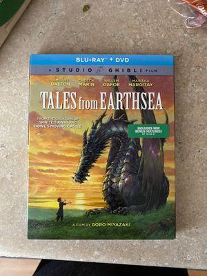 Tales from the Earthsea Blu-ray + DVD Studio Ghibli for Sale in Oak Glen, CA