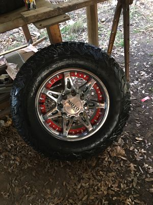 GMC/Chevy Wheels and tires for Sale in Round Rock, TX