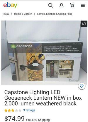 Capstone Outdoor Gooseneck Lantern for Sale in Santa Ana, CA