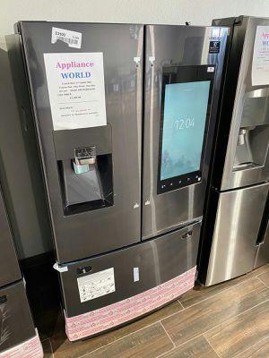 😎 Samsung Family Hub 3-Door French Door Refrigerator in Black Stainless Steel 📢 for Sale in Phoenix, AZ