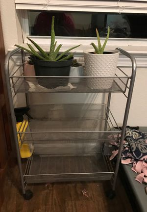 Metal shelf unit for Sale in McKinney, TX