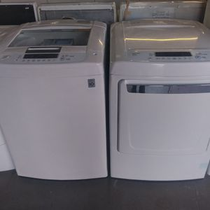 Lg Top Load Washer And Dryer for Sale in Ceres, CA