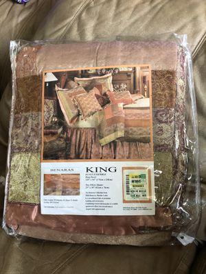 Duvet ensemble king for Sale in Mansura, LA