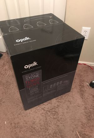 Polk Audio, Black Stone TL1600 (5.1 Home Cinema System) for Sale in Draper, UT