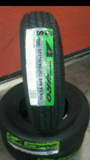 ST175-80-13 Atturo ST200 Trailer Tires for Sale in Ontario, CA