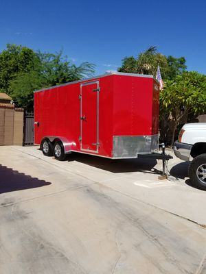 2018..-8x16.. pace enclosed trailer...6.500..obo for Sale in Yuma, AZ
