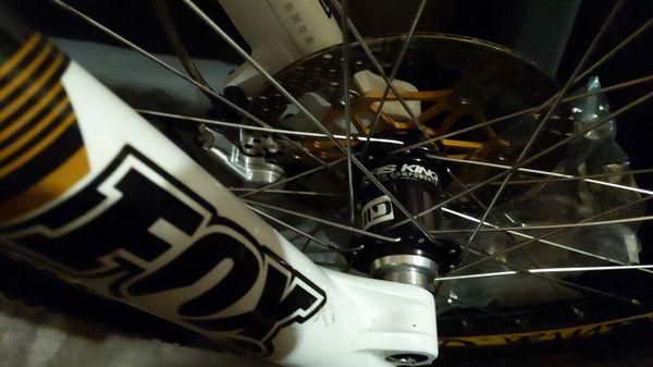Downhill mountain bike Intense Team M9 FRO size Large