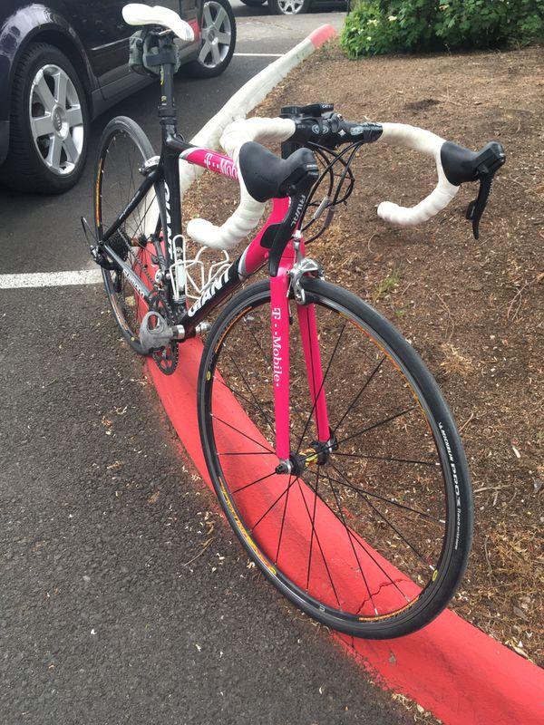 Giant TCR Advanced T-Mobile pro team road bike